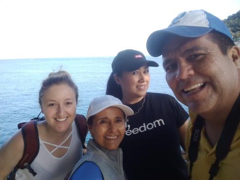 Selfie at Boca de Tomatlán