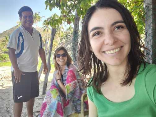 Israel, Karina and Sarai