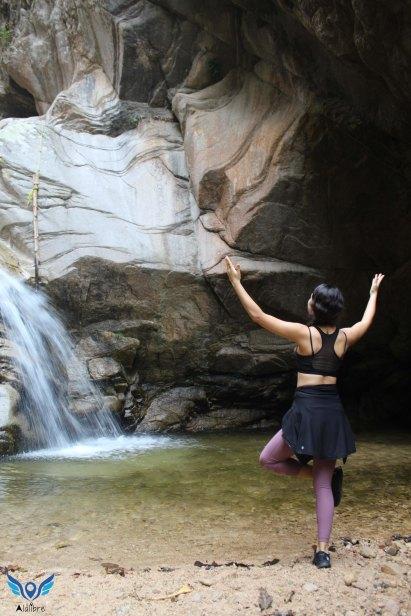Elvira and the Waterfall