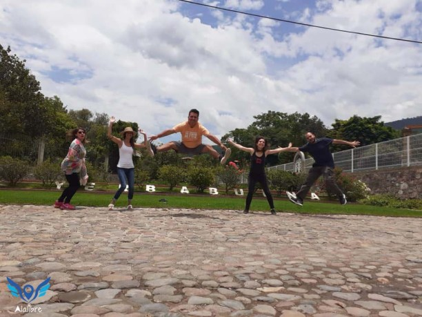 Jump at La Yerbabuena