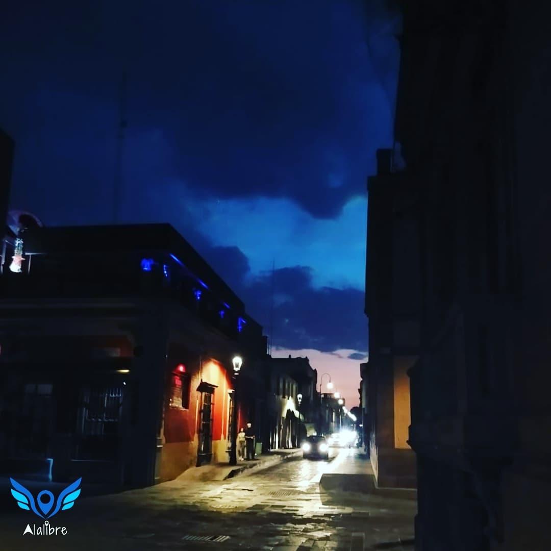 San Luis Potosi City by Night