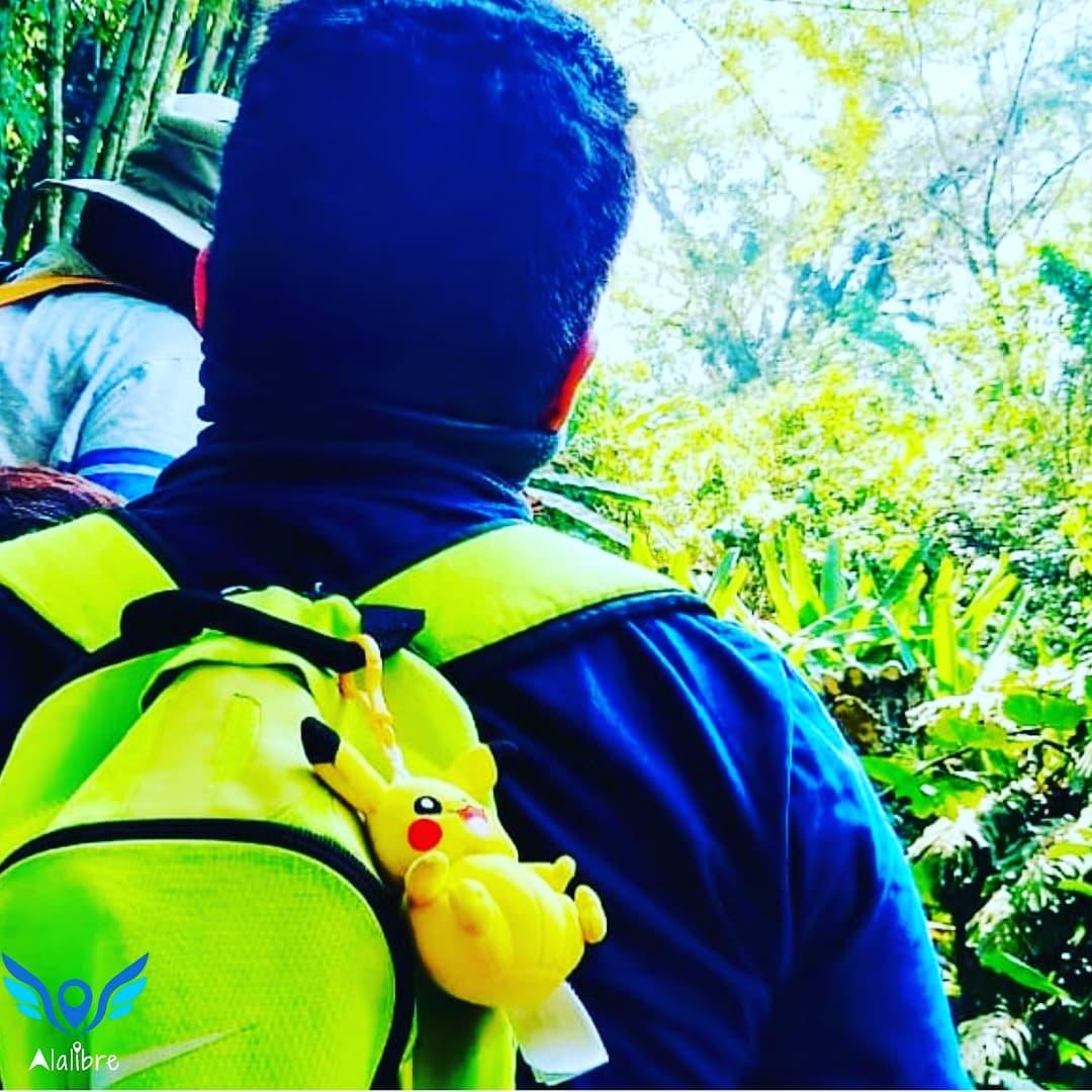 Backpacking at San Luis Potosi.