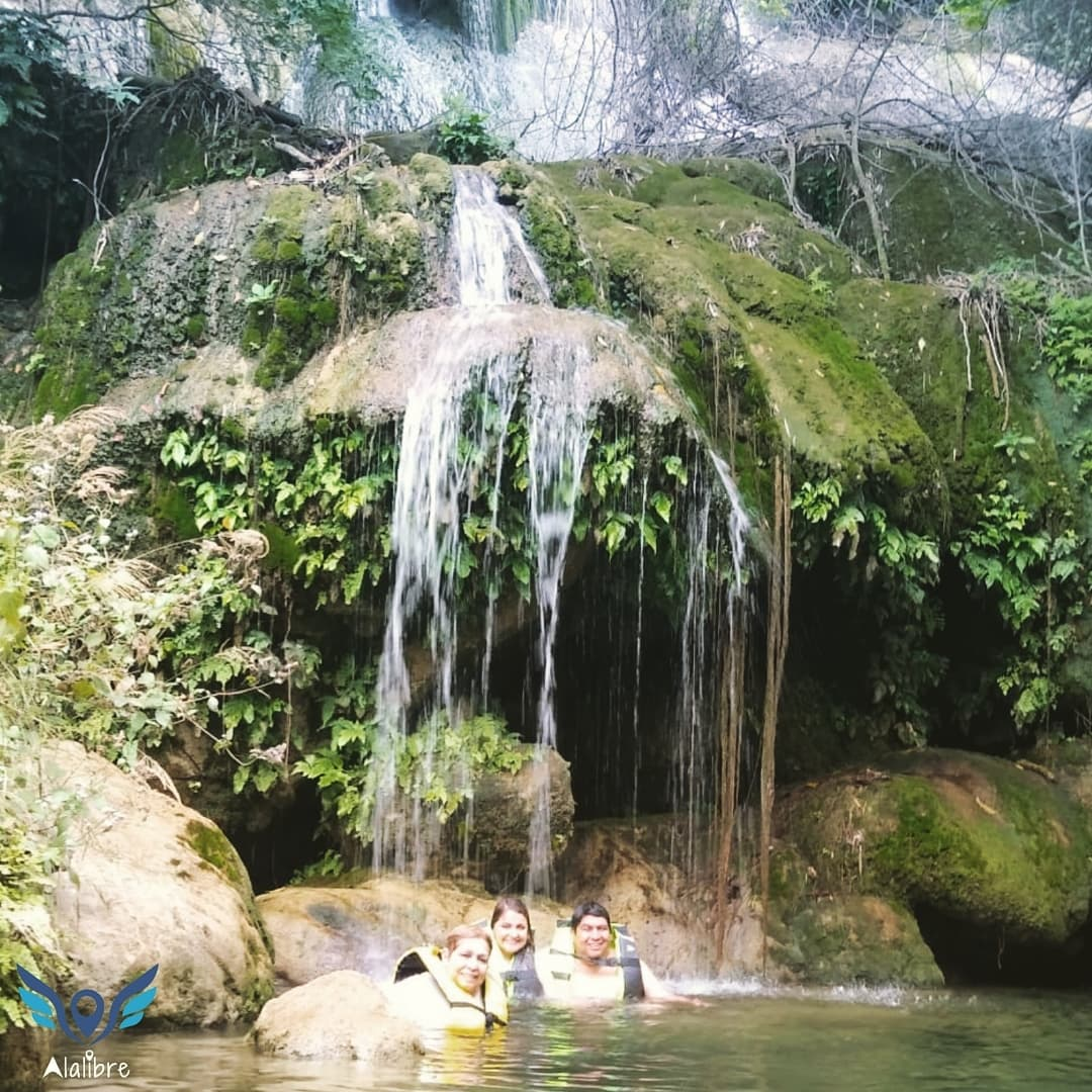 One of Micos Waterfalls.