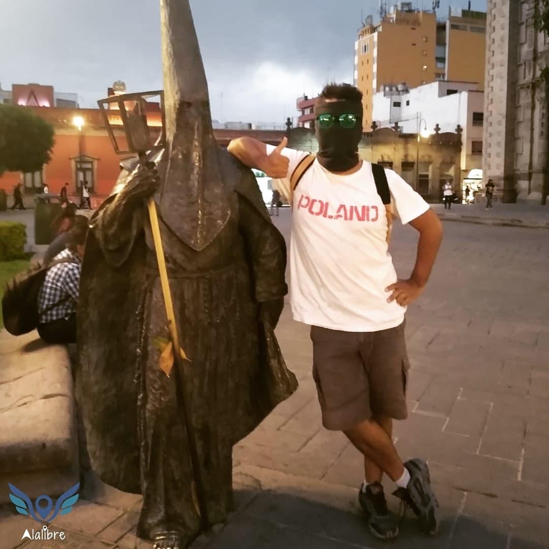 Sculptures in San Luis Potosi City