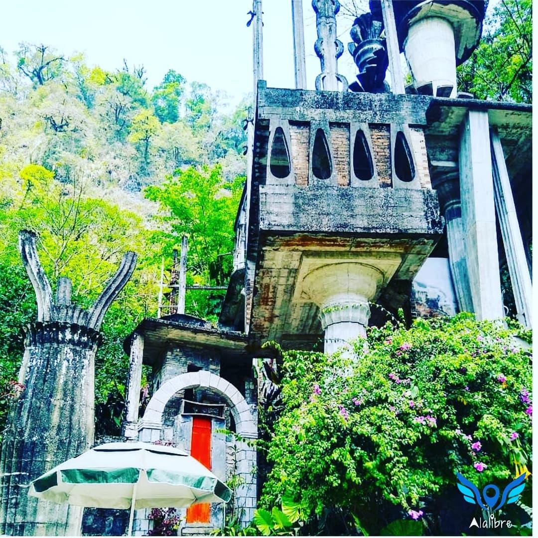 Surrealistic Castle of Xilitla