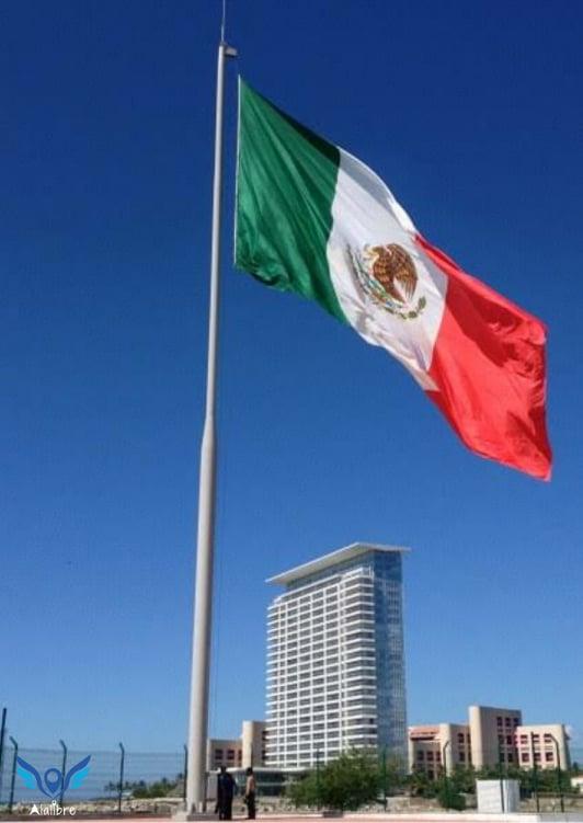 Mexican Flag in Puerto Vallarta